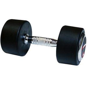 Egykezes gumírozott súlyzó inSPORTline 50 kg kép