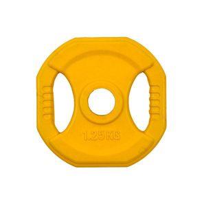Szögletes gumizott súlyzótárcsa inSPORTline Pump 1, 25 kg kép