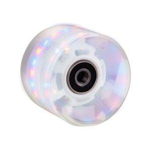 Műanyag gördeszka világító kerék 60*45 mm ABEC 7 csapágyakkal kép