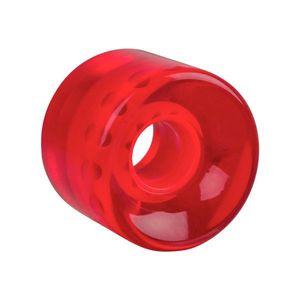 Átlátszó műanyag gördeszka kerék 60*45 mm kép