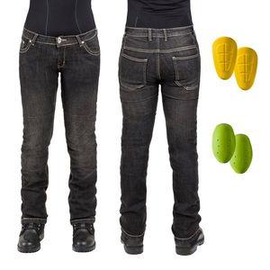 Női motoros farmer nadrág W-TEC C-2011 fekete kép