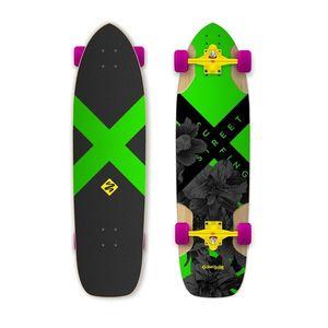 """Longboard Street Surfing Freeride Electrica 36"""" kép"""