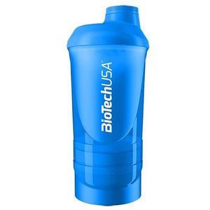 Shaker Wave+ kék 600ml (+200 +150) kép