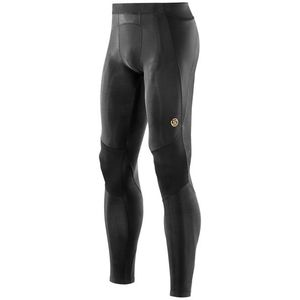 Férfi kompressziós hosszú nadrág Skins A400 fekete kép