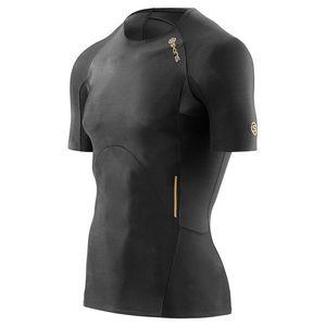 Skins A400 férfi rövid ujjú póló - fekete kép