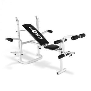KLARFIT HB3BC-W, edzőpad, kezek és lábak erősítése, fehér kép