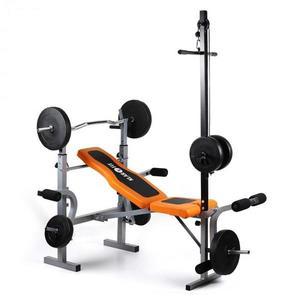 KLARFIT Ultimate Gym 3500, tornagép, súlyzópad, latissimus kép