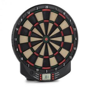 OneConcept Dartomat elektromos darts céltábla, puha hegyű nyilak, 26 játék, hangok kép