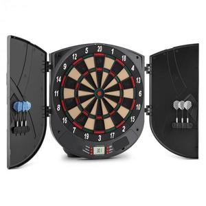 OneConcept Dartor elektromos darts céltábla, puha hegyű nyilak, 26 játék, ajtók, hangok kép