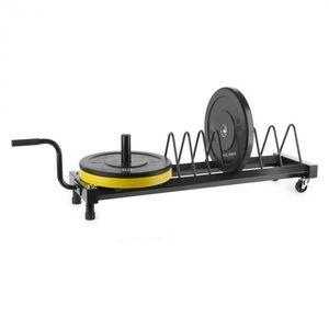 Capital Sports Plarak, súlytárcsatartó állvány, szállítókerekek, max. 500 kg kép