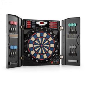 OneConcept Masterdarter elektromos darts céltábla, puha hegyek, fém hatás kép