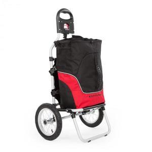 DURAMAXX Carry Red, biciklis kocsi, kézikocsi, max. teherbírás 20 kg, fekete-piros kép