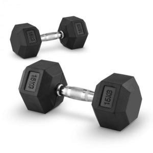 Capital Sports Hexbell 15, 15kg, két kézi súlyzó (dumbbell) kép