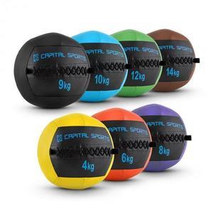 Capital Sports Epitomer Wall Ball készlet, 4 kg, 6 kg, 8 kg, 9 kg, 10 kg, 12 kg, 14 kg kép