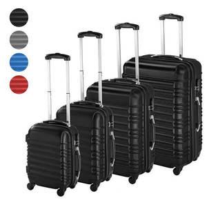 4 db-os merev falú bőrönd szett, 4 színben kép