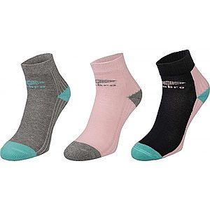 Umbro SPORT SOCKS 3P rózsaszín 24-27 - Gyerek zokni kép