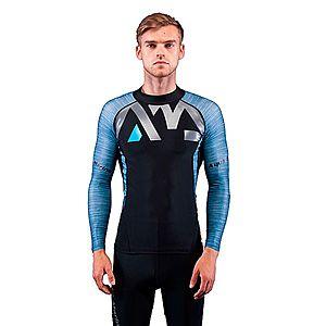 Férfi hosszú ujjú póló vízi sportokhoz Aqua Marina Division kép