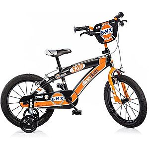 Dino Bikes 16 narancs / fekete kép