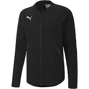 Puma TEAM FINAL 21 CASUALS JACKET fekete XL - Férfi kabát kép