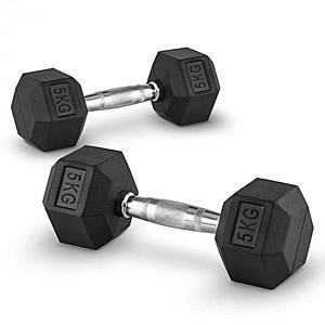Capital Sports Hexbell 5, 5kg, kézisúlyzó pár (dumbbell) kép