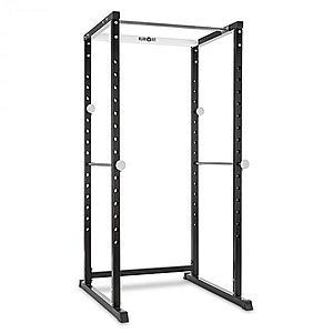 KLARFIT PR1000, edző állvány, acél, kétkezes súlyzótartó, biztonsági támaszok kép