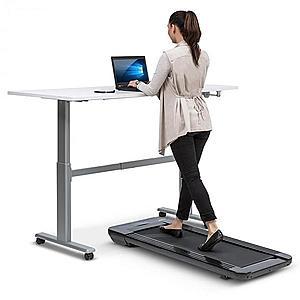 Capital Sports Workspace Go, futópad, 350 W, 0.8 - 6 km/h, 11 cm-es magasság, fekete kép