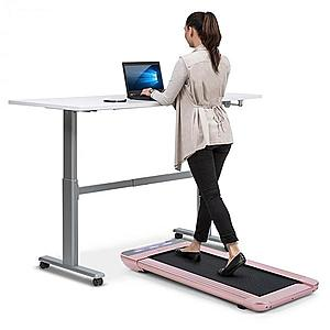 Capital Sports Workspace Go, futópad, 350 W, 0, 8 - 6 km/ó, 11 cm magasság, arany rózsaszín kép