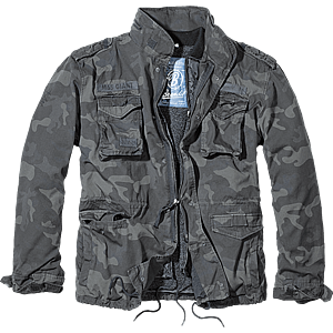 Brandit M65 Giant téli kabát, darkcamo kép
