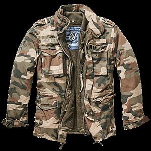 Brandit M65 Giant téli kabát, light woodland kép