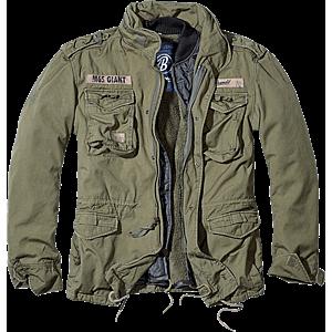 Brandit M65 Giant téli kabát, olivazöld kép