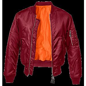 Brandit MA1 bomber pilot dzseki, bordó kép