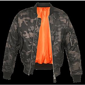 Brandit MA1 bomber pilot dzseki, darkcamo kép