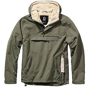 Brandit Windbreaker Sherpa dzseki, olivazöld kép