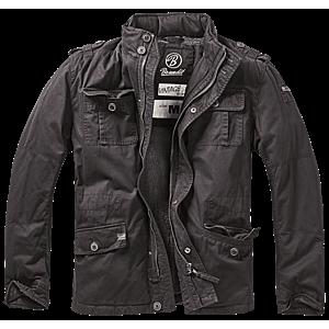 Brandit britannia téli kabát, fekete kép