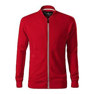 Malfini Bomber férfi pulóver, piros, 320g/m2 kép