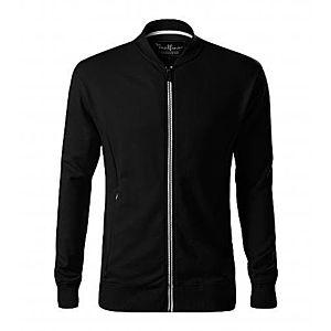 Malfini Bomber férfi pulóver, fekete, 320g/m2 kép