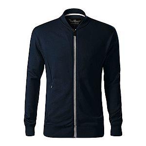 Malfini Bomber férfi pulóver, kék sötét, 320g/m2 kép