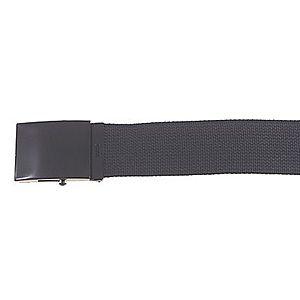 MFH Gurt fekete öv fém csattal 4, 5cm kép