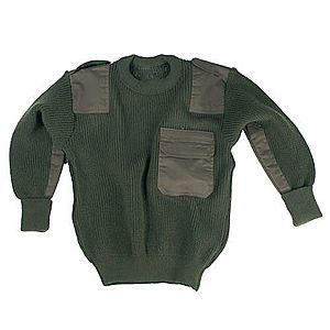 Mil-Tec gyerek pulóver, olívzöld kép