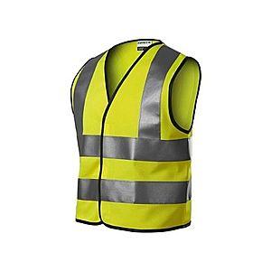 Rimeck HV Bright gyerek fényvisszaverő biztonsági mellény, sárga kép