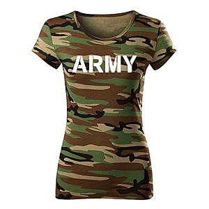 WARAGOD női póló army, terepmintás 150g/m2 kép