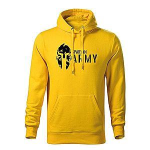 WARAGOD kapucnis férfi pulóver spartan army, sárga 320g / m2 kép