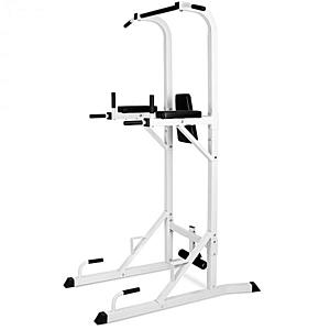 KLARFIT KS04, fitnesz állomás, húzódzkodó állvány, fekvőtámasz, bicepsz, has kép