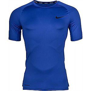Nike NP TOP SS TIGHT M zöld M - Férfi póló kép