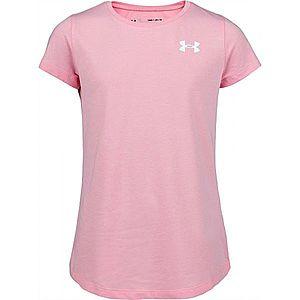 Under Armour LIVE SS CREW rózsaszín XL - Lány póló kép