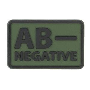 Helikon-Tex 3D PVC címke AB-Negative, 2db olive green kép