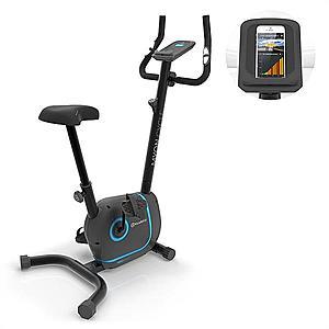 KLARFIT Myon Cycle, szobakerékpár, 12 kg lendkerék, SmartCardio Studio, fekete kép