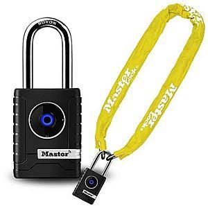 Master Lock 8390EURDPROCOLY + 4401EURDLH e-kerékpár és robogó lakat kép