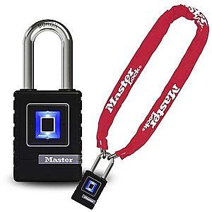 Master Lock 8390EURDPROCOLR + 4901EURDLH e-kerékpár és robogó lakat kép