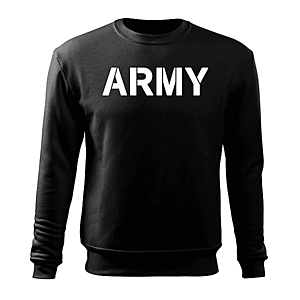 WARAGOD férfi pulóver army, fekete 300g/m2 kép
